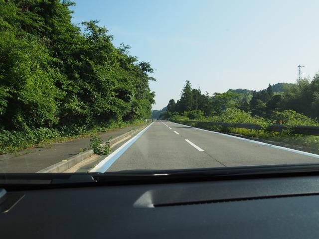 サンライズ糸山へ向かう