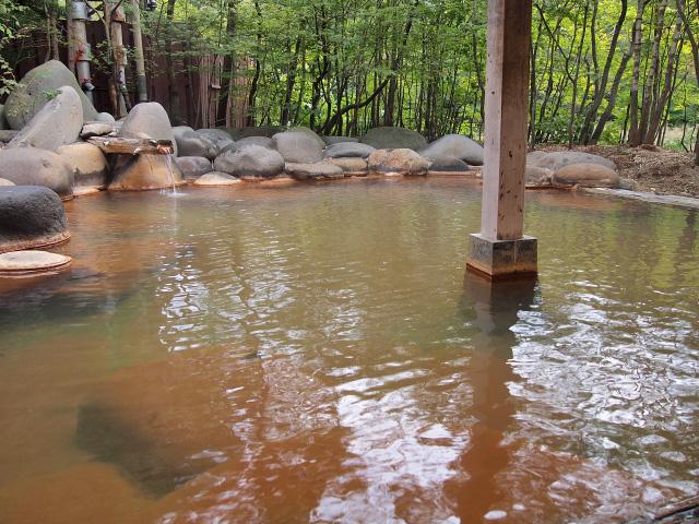 渓流の湯 露天(2)