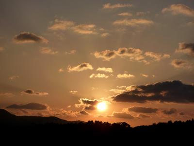 きれいな夕焼け2