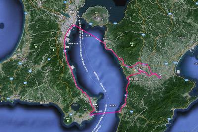 20140601 錦江湾ルート