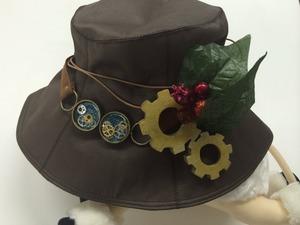 機械植物帽