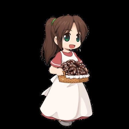 チョコレートドーナツ
