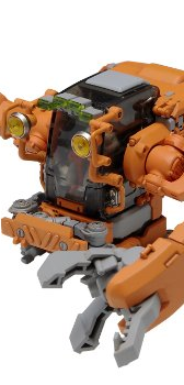 スペース ポッド クラブ03【汎用工事用修理機】[オレンジ、クリアーオレンジ成形の2体セット] (NONスケールプラスチックキット)