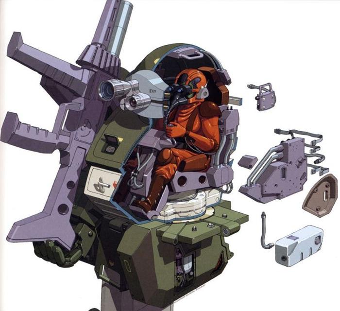 ロボ作品の機体や兵器の絶対に乗りたくない『コックピット』挙げてけ