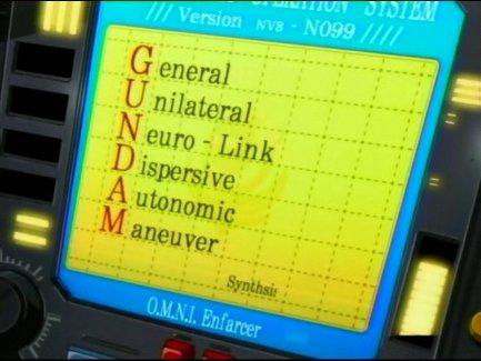 ガンダムの定義って何?