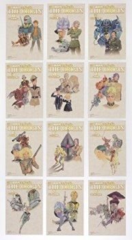 愛蔵版 機動戦士ガンダム THE ORIGIN 1巻~12巻 全巻セット(オリジナルポストカード12枚付)