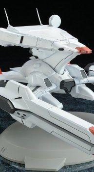 ノンスケール彩色済みPVC完成品フィギュア B.M.F BATTLESHIP MECH FUN 「機動戦艦ナデシコ」 ナデシコ級一番艦 ナデシコ