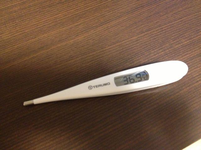 37 度 の 微熱