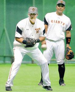 【悲報】 巨人マギー、二塁手になる