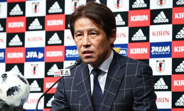 JFA田嶋会長、西野朗監督について「慰留はせず、今月末で日本代表監督を終了する」