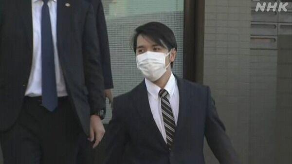 【速報】小室圭さん、自宅を出る
