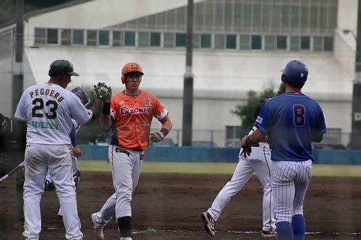 BCリーグ選抜 13-4 ロッテ二軍