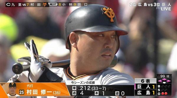 村田修一ちゃん36歳(.206 1 4 得点圏打率.188)を救済してくれる球団