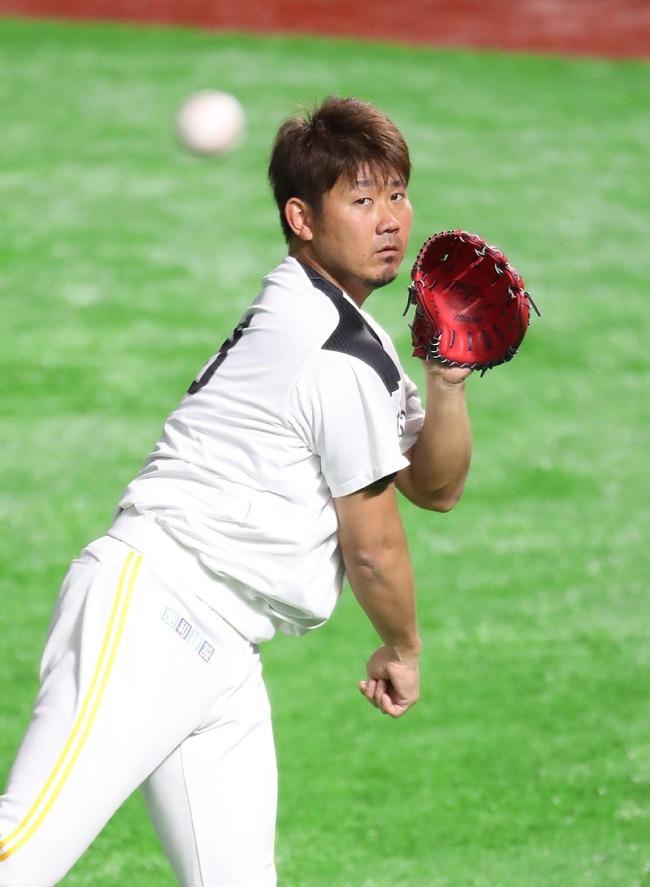 【朗報】松坂大輔さん、和田に代わりオリックス戦にガチマジで先発wwwww