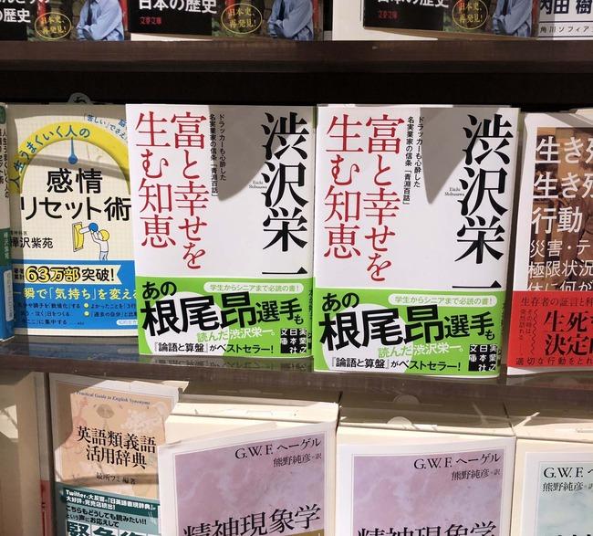 根尾昂 本 書籍 読書 渋沢栄一
