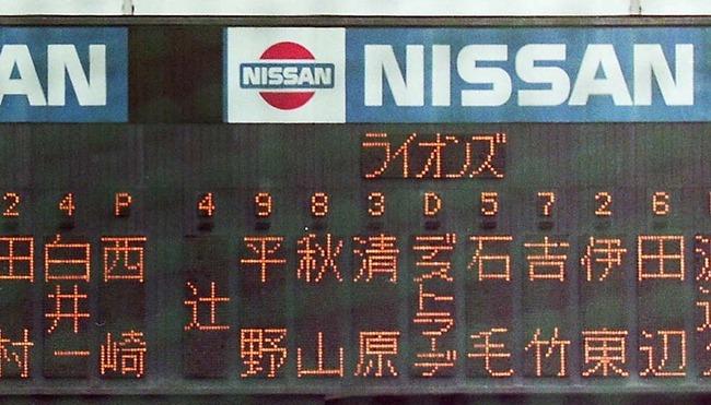 ライオンズ スタメン
