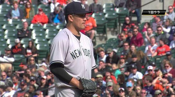 【ヤンキース】田中 5回3失点 92球 防御率11.74・・・・・
