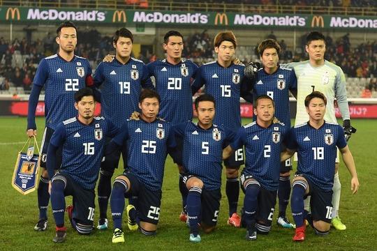 サッカー日本代表メンバー、発表される