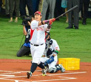 イ=デホ本塁打競争