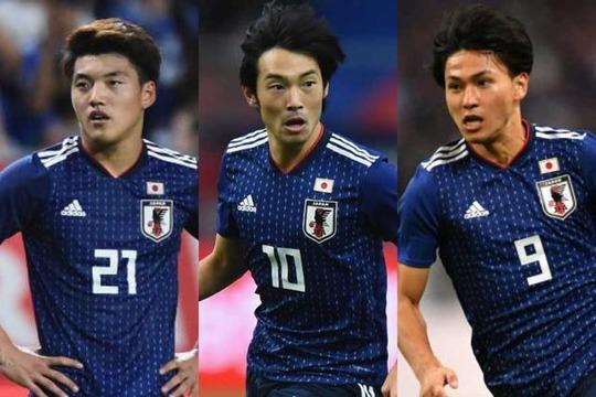 【悲報】サッカー日本代表の新BIG3、一瞬で廃れてしまう...