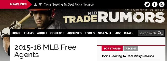 2015-16 MLB Fre