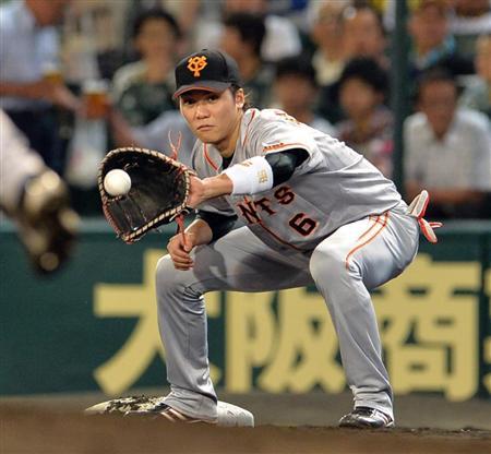 坂本一塁手
