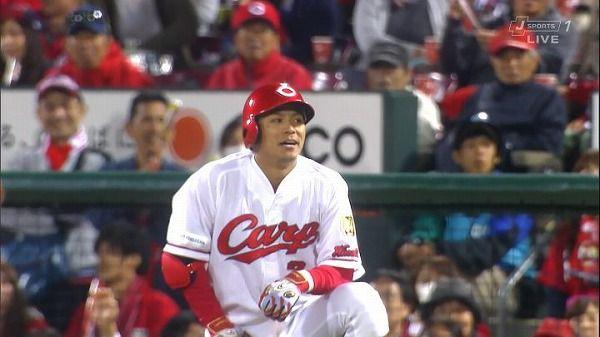 広島田中「誰が見てもセーフ。一塁もビデオ判定をすべき」