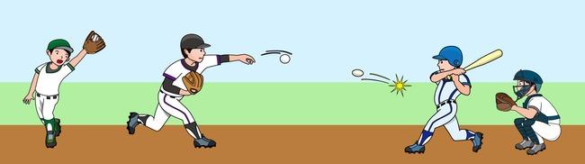 絵野球イメージ