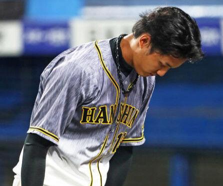 藤浪晋太郎(26) 1勝5敗 防御率5.27 46奪三振 与四球24 与死球2 暴投4