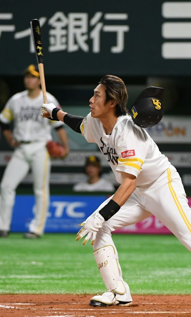 ソフトバンク柳田(打率.385)がシーズン打率記録を破る可能性