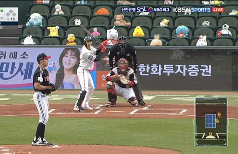 韓国プロ野球 無観客試合の観客が日に日に増える
