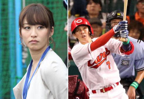 野球選手と結婚した(付き合った)女子アナwwxwwxww