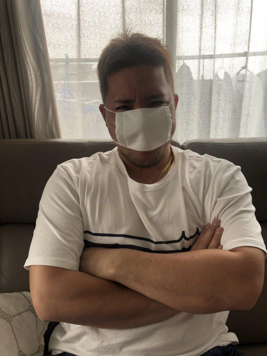 山川穂高さんがアベノマスクをした結果www