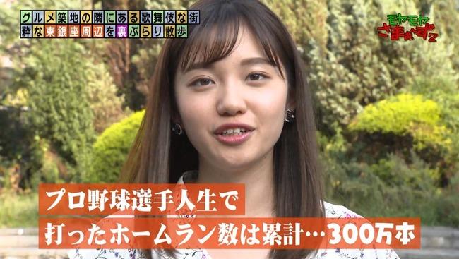 田中アナ 女 阿部 通算本塁打数 300万本