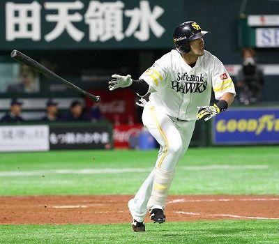 柳田悠岐 .309(4位) 19本(1位) 63打点(1位) 出塁率.427(2位) 長打率.605(1位) OPS1.032(1位)