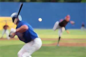 投手と打者イメージ+