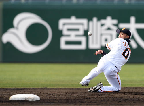 【動画】井端コーチ絶賛 巨人・吉川尚の守備wwwwx
