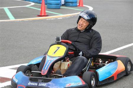 山崎武司カートレース車
