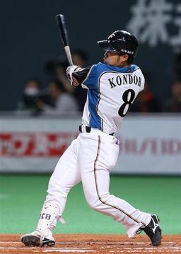 近藤健介 (日本ハム) .475 本塁打1 打点11 OPS 1.268