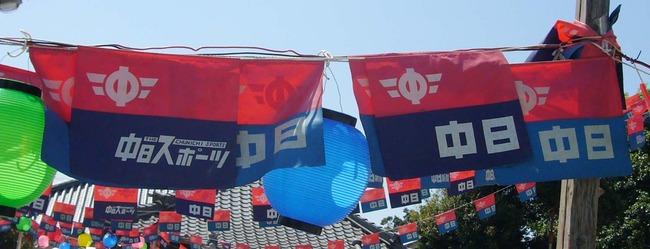 中日新聞社旗