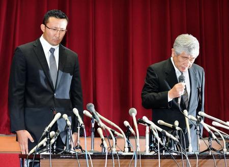 日大が緊急会見 内田前監督「知らなかった。わからなかった。聞こえてなかった。覚えてない」