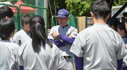 大谷翔平の父親が監督の中学チーム、花巻東高校(女子)を16-2でボコボコにする