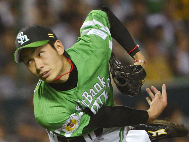 ソフトバンク武田翔太(19) 8勝1敗 防1.07