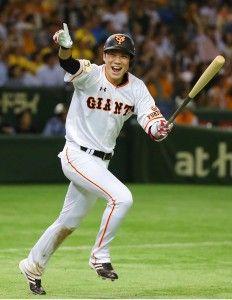 坂本勇人 .359 2本 12打点 4盗塁 出塁率.409 OPS.904
