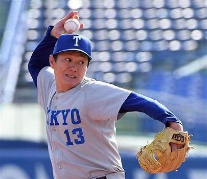 【六大学野球】元医師の東大40歳右腕 ホロ苦1回4失点 MAX108キロ