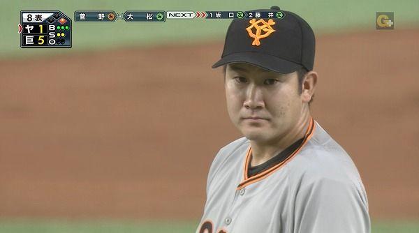 菅野「防御率1点台の僕と、野村。どっちが凄いかは回りが議論してください」