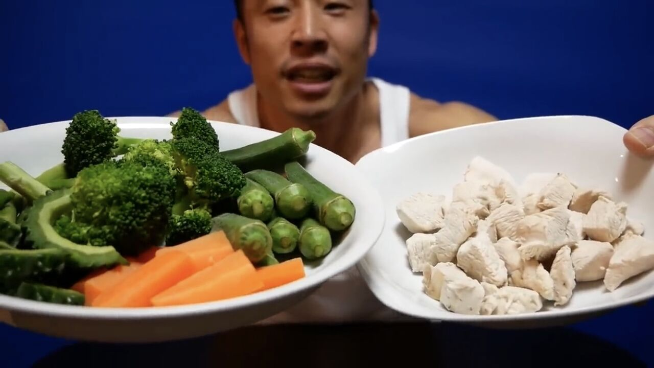【画像】なかやまきんに君が毎日食べてるご飯が健康的な上に美味そうだと話題に