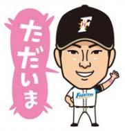 田中賢介ただいま