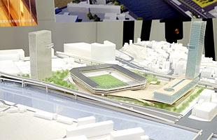 ジャパネットHD、自前資金500億円投入で透明ドームスタジアム建設か