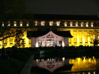 夜の国立博物館